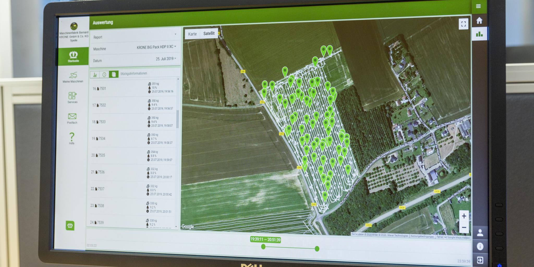 Krone pakub uut süsteemi masinate tööandmete analüüsimiseks