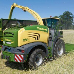Väiksemad Krone Big X mudelid saavad uue välimuse ja kabiini
